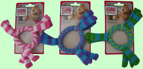 KONG BraidZ Pinwheel catnip cat toy