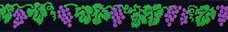 Grapes and Vines Beastie Bands cat collar